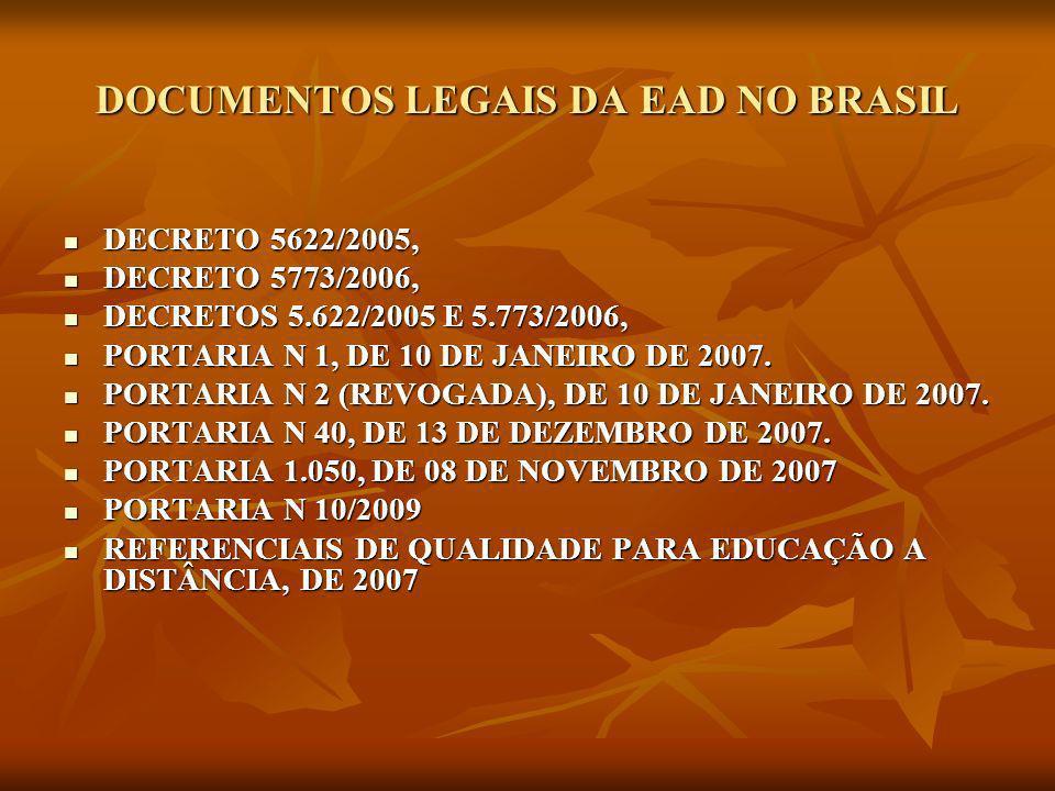 COMPETENCIA DA SEED O Decreto 5622/205 estabelece: O Decreto 5622/205 estabelece: Art.