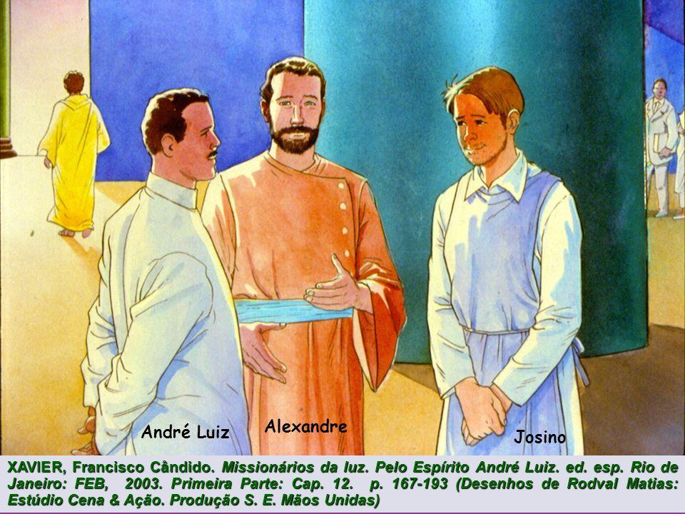 André Luiz O Instituito de Planejamento das Reencarnações XAVIER, Francisco Cândido. Missionários da luz. Pelo Espírito André Luiz. ed. esp. Rio de Ja