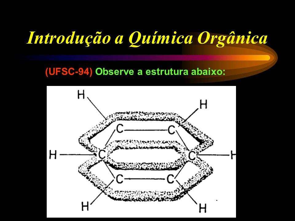 Introdução a Química Orgânica (UFSC-92) Dentre as propriedades dos compostos orgânicos e inorgânicos, escolha aquelas que melhor caracterizam os compo