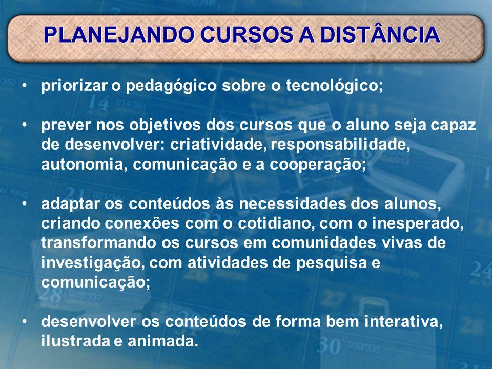 Devemos possibilitar uma aprendizagem colaborativa e o compartilhamento do conhecimento.