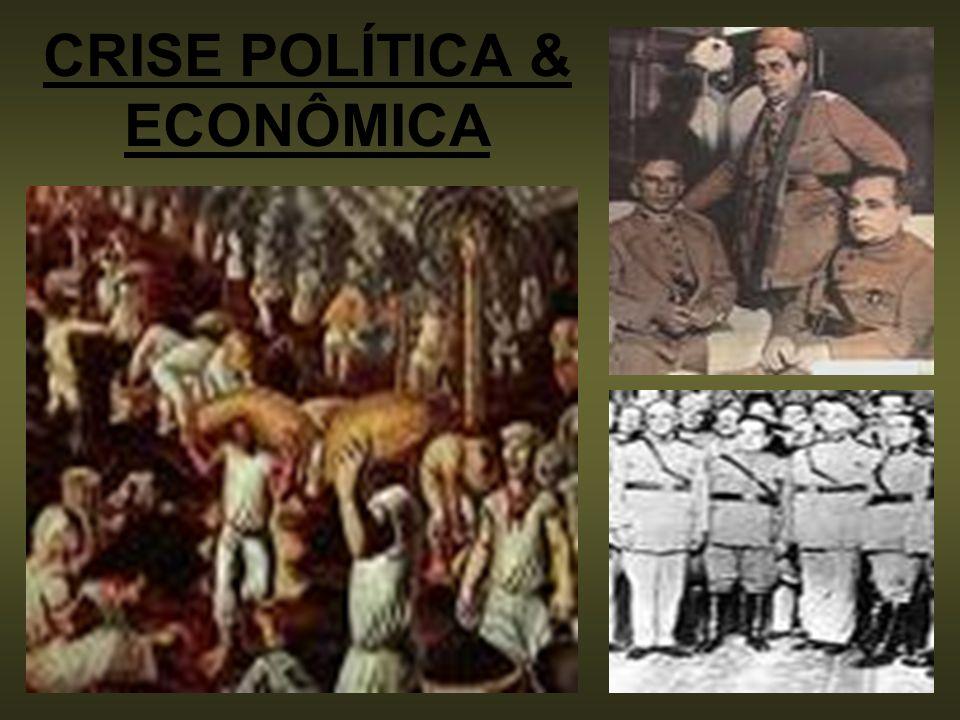 O GOVERNO PROVISÓRIO (1930-1934) GOVERNO CENTRALIZADOR (CONGRESSO FECHADO).