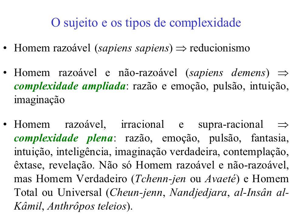 A metodologia do Pensamento Complexo Pleno Para tanto, essa razão complexa desse Pensamento Complexo Pleno poderia se utilizar dos três pilares da met