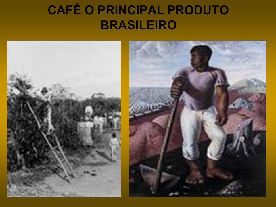 CAFÉ O PRINCIPAL PRODUTO BRASILEIRO