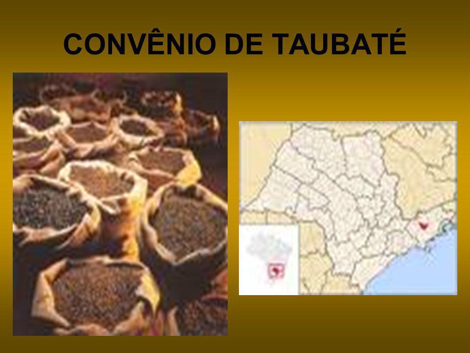 CONVÊNIO DE TAUBATÉ