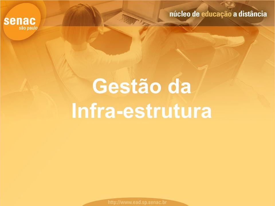 Gestão da Infra-estrutura