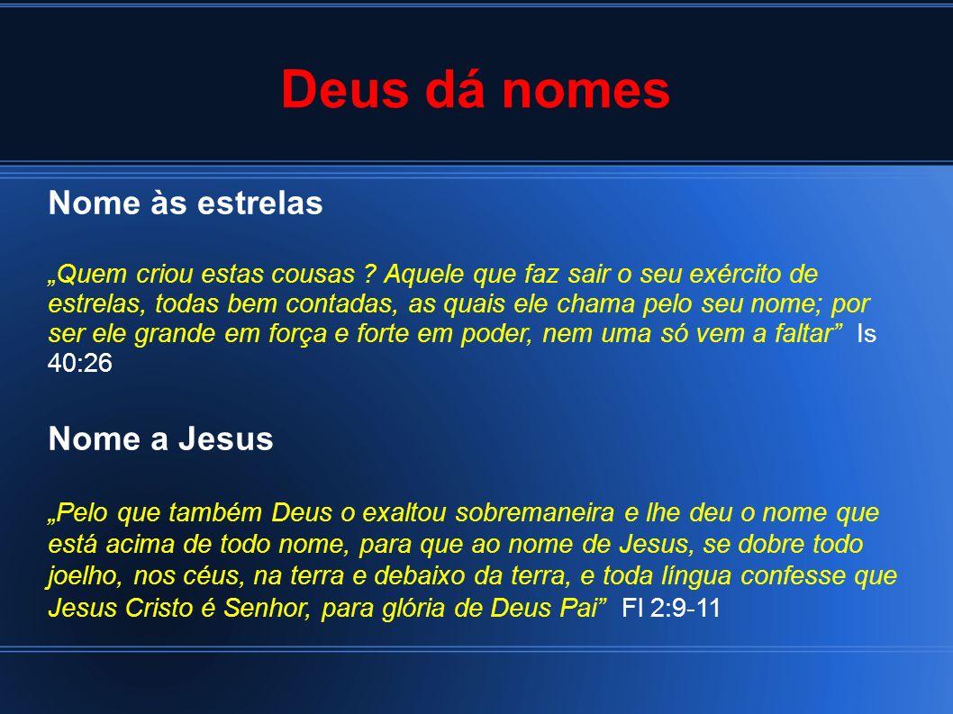 Um nome novo Nome ao povo de Jesus Aquele que entra pela porta, esse é o pastor das ovelhas […].
