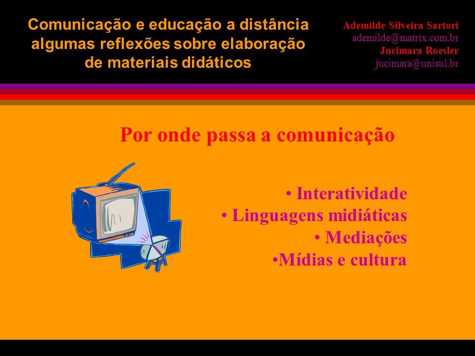 novas práticas educativas novos currículos novas prioridades Ademilde Silveira Sartori ademilde@matrix.com.br Jucimara Roesler jucimara@unisul.br Comu