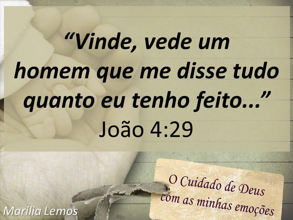 João 4:1-30 Marília Lemos