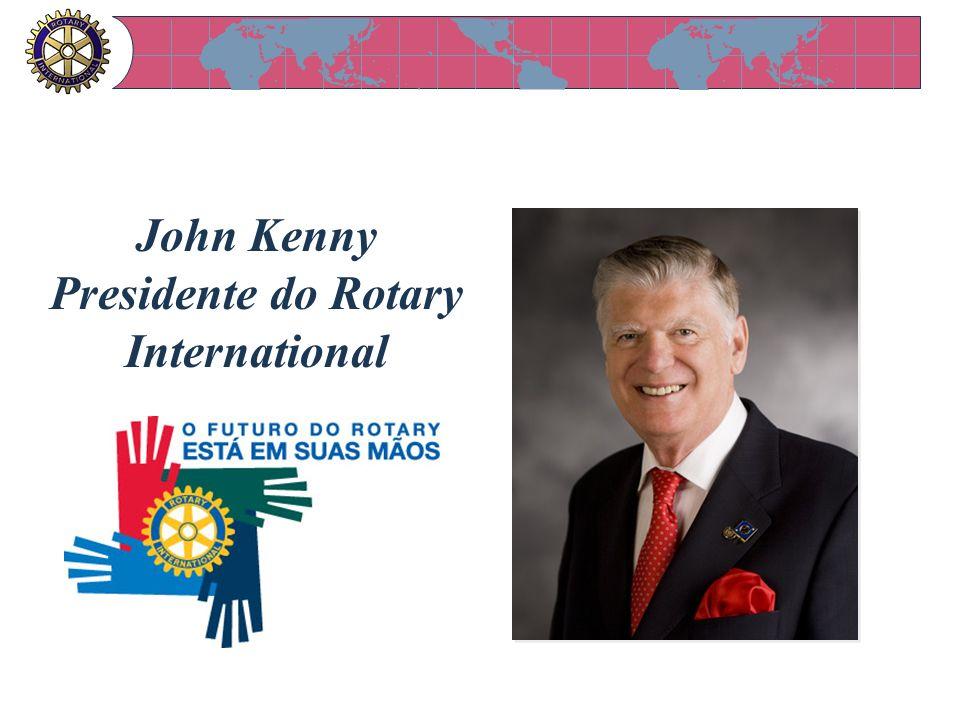 John Kenny Presidente do Rotary International