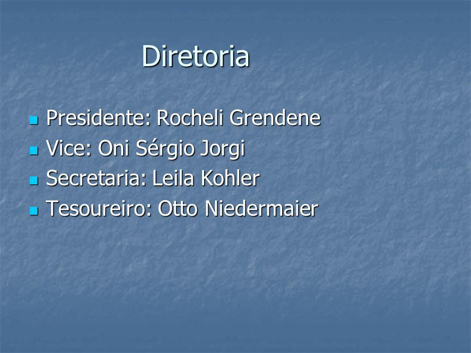 Diretoria Presidente: Rocheli Grendene Presidente: Rocheli Grendene Vice: Oni Sérgio Jorgi Vice: Oni Sérgio Jorgi Secretaria: Leila Kohler Secretaria: