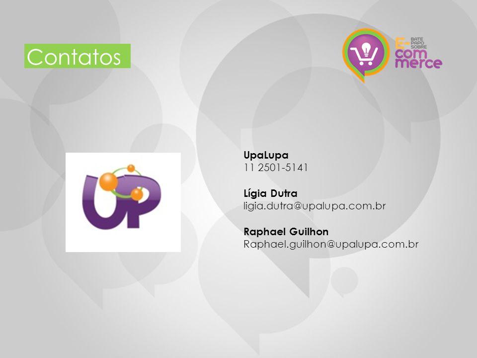 11 Contatos UpaLupa 11 2501-5141 Lígia Dutra ligia.dutra@upalupa.com.br Raphael Guilhon Raphael.guilhon@upalupa.com.br