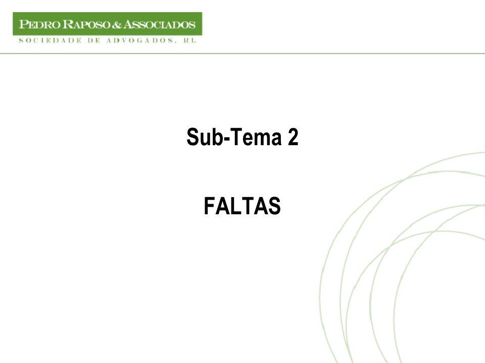 Sub-Tema 2 FALTAS