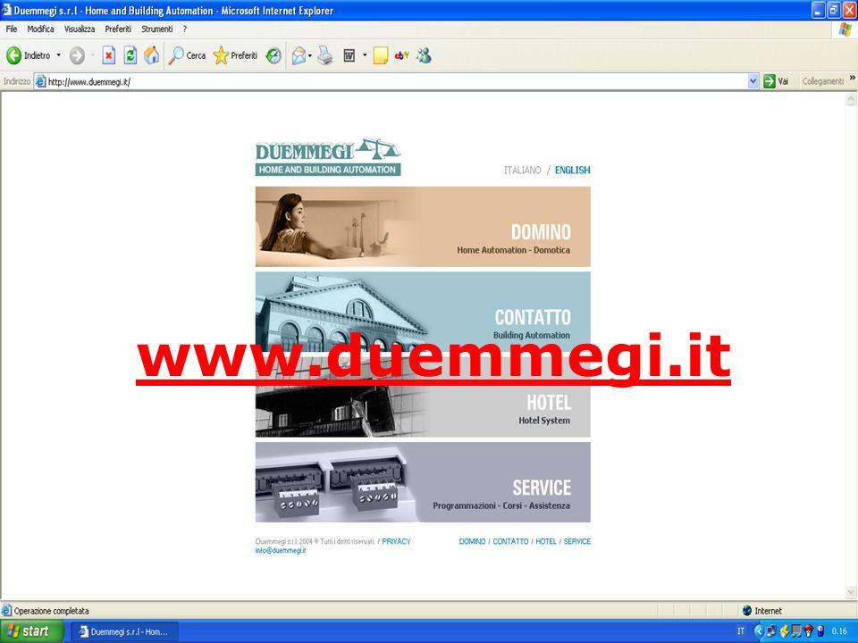 ContattoDomino A EMPRESA A Duemmegi foi fundada em 1992 e é a 100% uma Sociedade Italiana, tanto no Capital Financeiro como Humano. A sua Sede situa-s