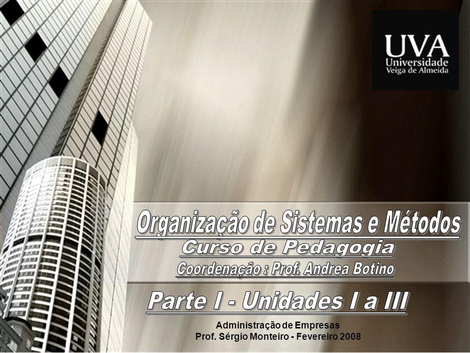Prof.Sérgio Monteiro Fevereiro 200822 OSM...