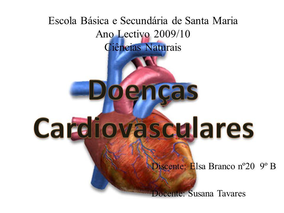 Escola Básica e Secundária de Santa Maria Ano Lectivo 2009/10 Ciências Naturais Discente: Elsa Branco nº20 9º B Docente: Susana Tavares