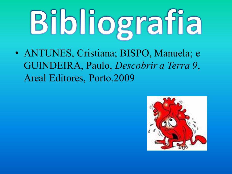 ANTUNES, Cristiana; BISPO, Manuela; e GUINDEIRA, Paulo, Descobrir a Terra 9, Areal Editores, Porto.2009