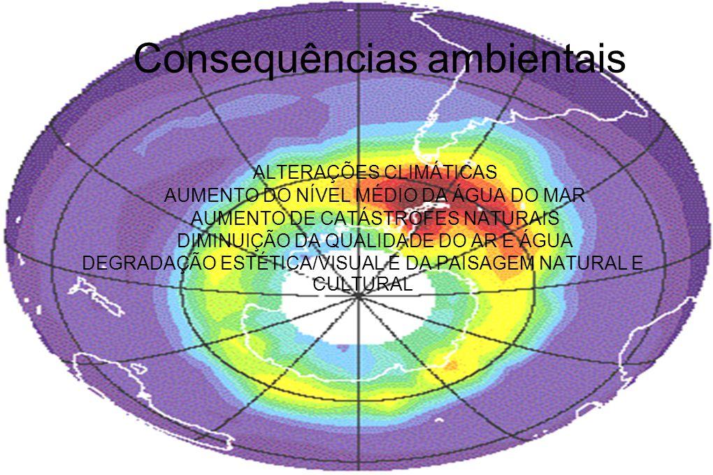 Desflorestação CAUSAS: ABATE DE ÁRVORES (COMÉRCIO DE MADEIRA) EXPANSÃO URBANA PASTAGENS INCÊNDIOS CHUVAS ÁCIDAS CONSEQUÊNCIAS: EROSÃO AQUECIMENTO MENOS OXIGÉNIO EXTINÇÃO DE ESPÉCIES ALTERAÇÕES CLIMÁTICAS