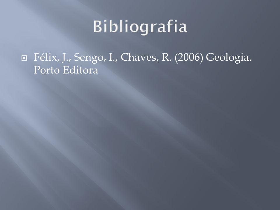 Félix, J., Sengo, I., Chaves, R. (2006) Geologia. Porto Editora