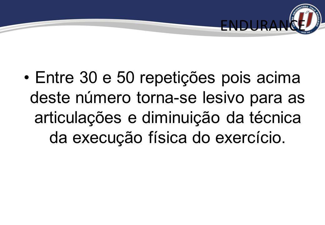 ENDURANCERMLRF FORÇA DINÂMICA FORÇA PURA