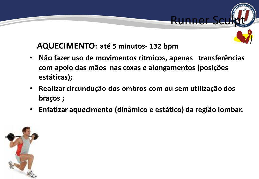 Exercícios contra- indicados:MMII - jairzinho e suas variações; - avanço; - agachamento com mudanças bruscas e de curta duração; cachorrinho; cachorri
