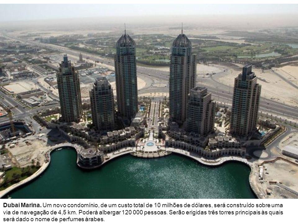The Riviera É um dos dez principais quarteirões do Dubai Waterfront.