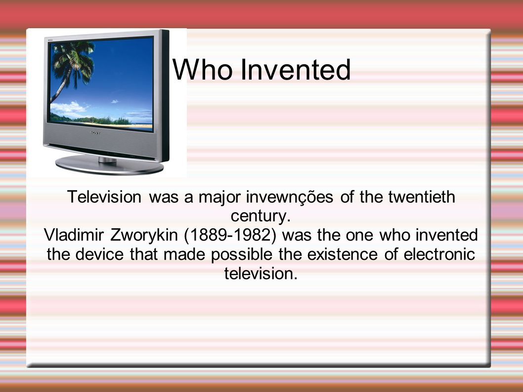 When it was invented This invention was in 1923 (20s) in the U.S.