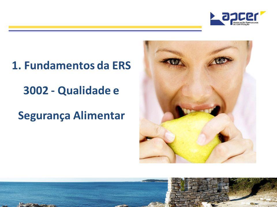 1. Fundamentos da ERS 3002 - Qualidade e Segurança Alimentar