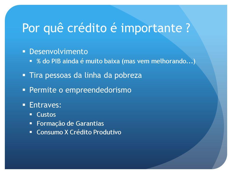 Por quê crédito é importante .
