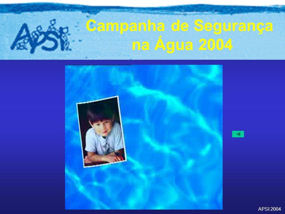 APSI 2004 Campanha de Segurança na Água 2004