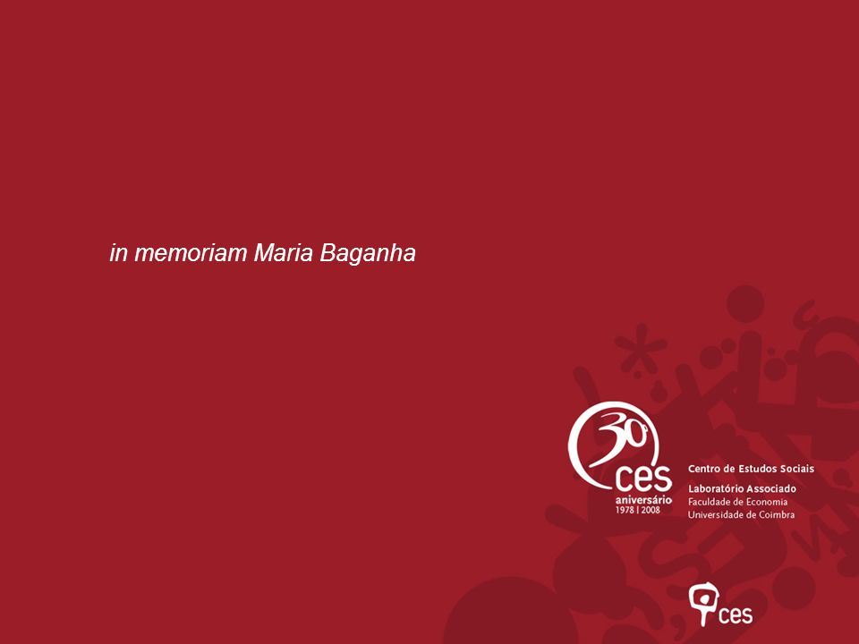 in memoriam Maria Baganha