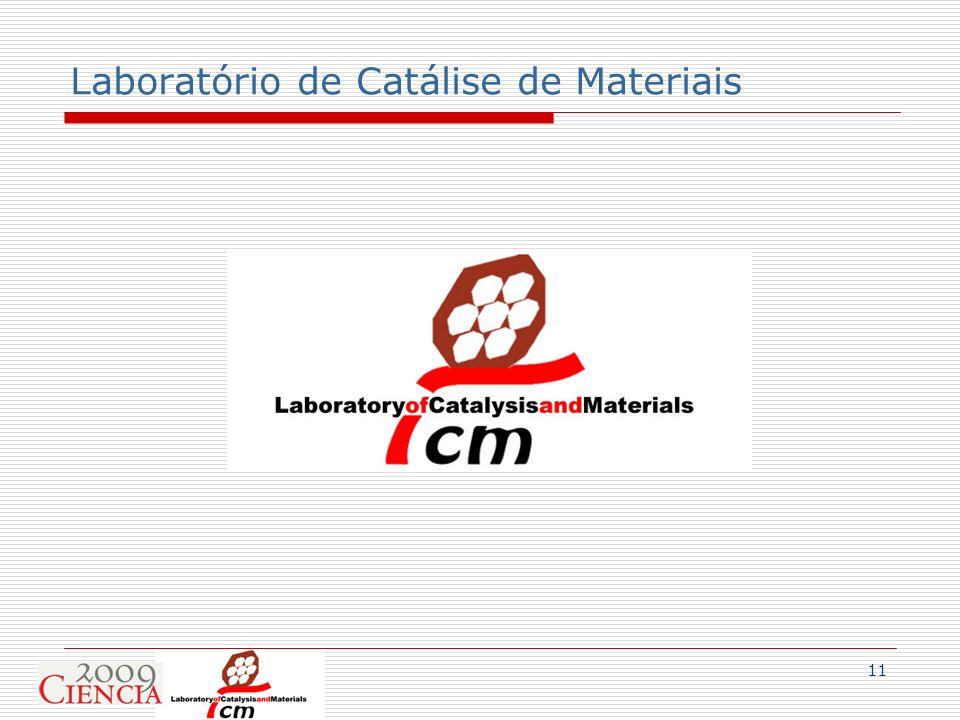 11 Laboratório de Catálise de Materiais