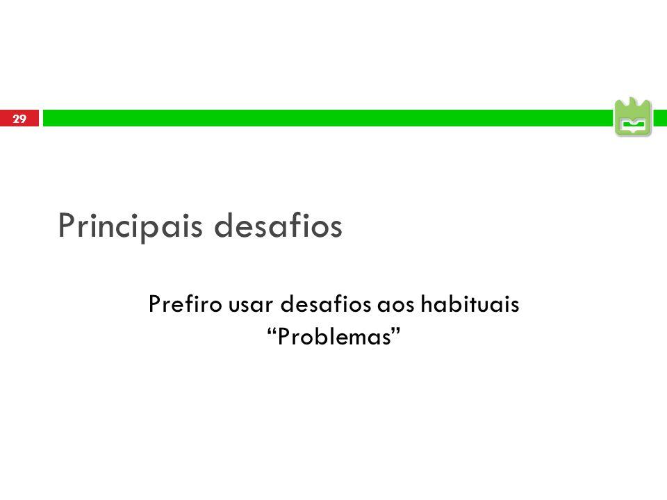 28 Ideias e próximo evento Ter repositório de teses, artigos Ter revista com impacto Parabéns para a recém lançada linguaMatica Ter projectos conjunto