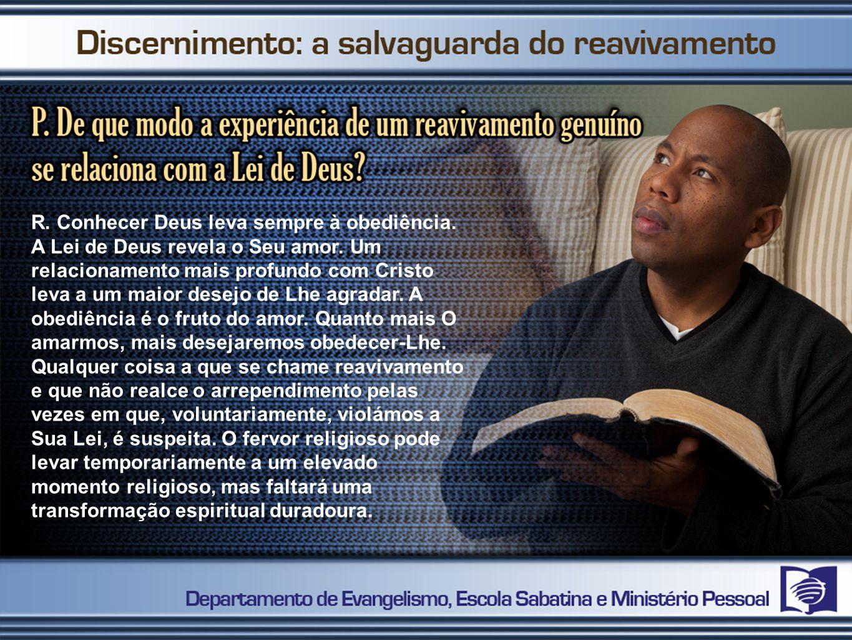 Uma vida de obediência e serviço centrada em Cristo revela a genuína atuação do Espírito Santo.