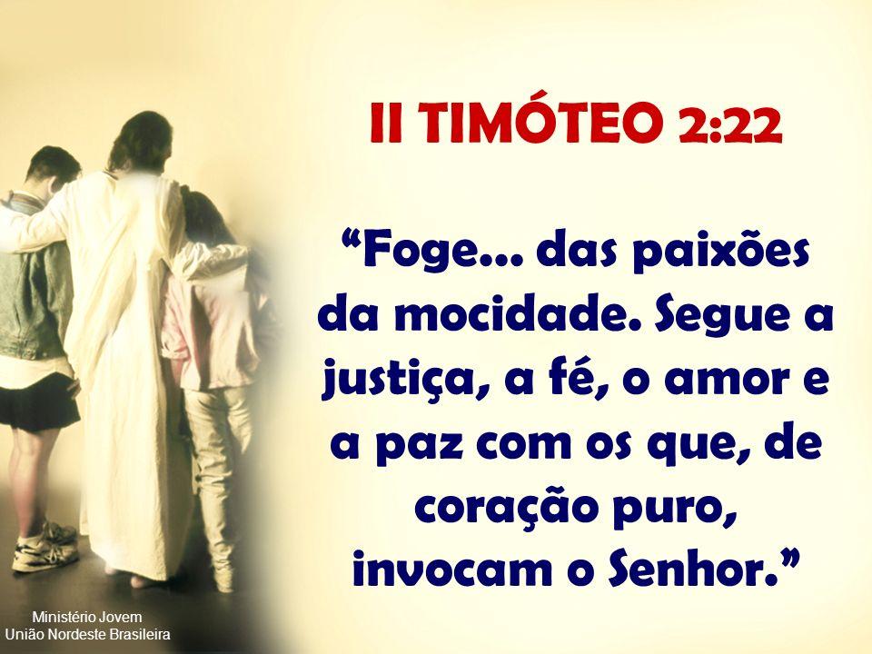 Ministério Jovem União Nordeste Brasileira SEXO ANTES DO CASAMENTO Um minuto de prazer por uma vida de sofrimento