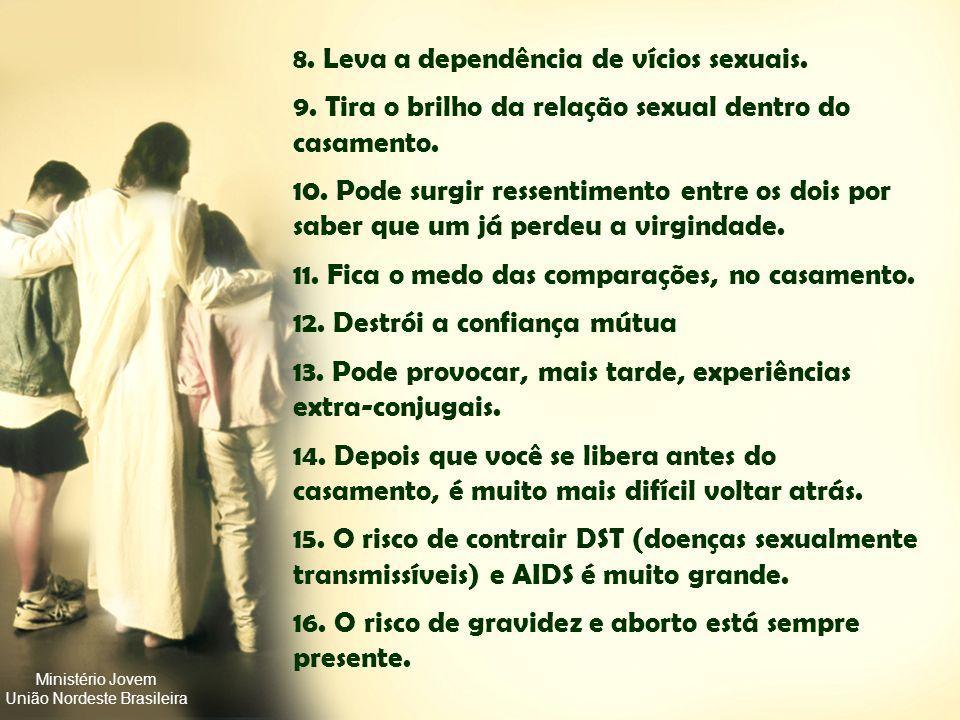 Ministério Jovem União Nordeste Brasileira POR QUE ESPERAR? 1.Porque Deus ensina assim 2.Prejudica a amizade com Ele 3.Provoca um sentimento de culpa