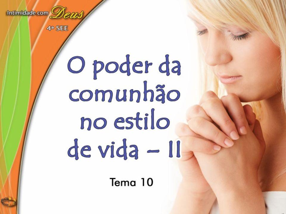 [Filhos e Filhas de Deus] Sua graça é concedida diariamente, para a necessidade do dia (O Maior Discurso de Cristo, p.