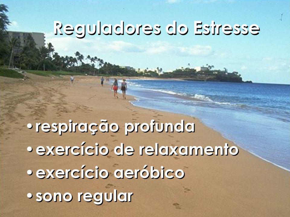 Reguladores do Estresse respiração profunda exercício de relaxamento exercício aeróbico sono regular respiração profunda exercício de relaxamento exercício aeróbico sono regular
