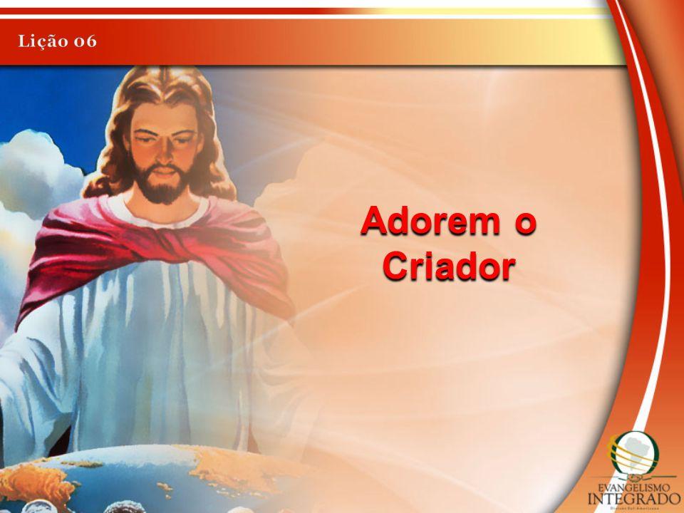 Adorem o Criador