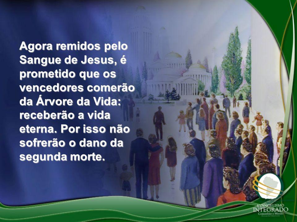 Agora remidos pelo Sangue de Jesus, é prometido que os vencedores comerão da Árvore da Vida: receberão a vida eterna. Por isso não sofrerão o dano da