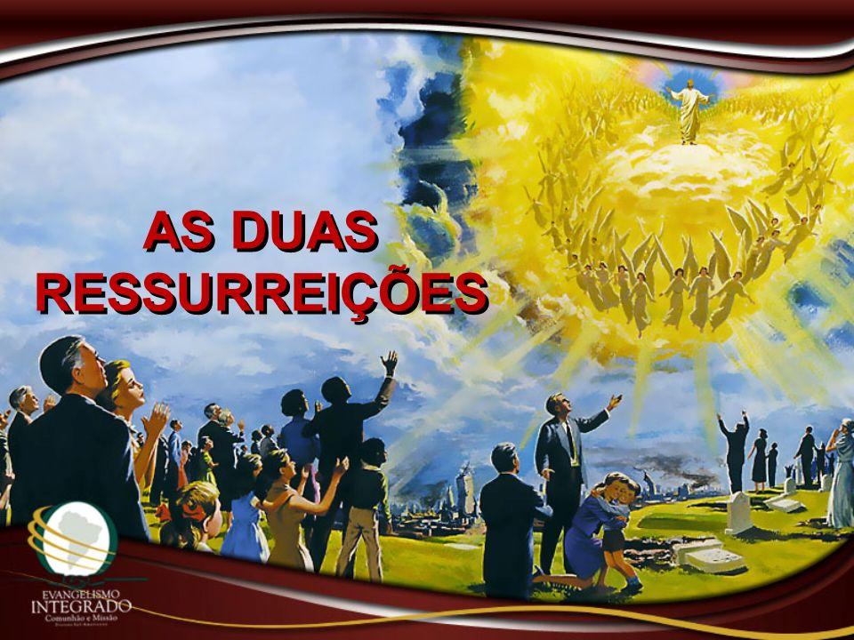 Não vos admireis disso, porque vem a hora em que todos os que estão nos sepulcros ouvirão a sua voz e sairão: os que tiverem feito o bem, para a ressurreição da vida, e os que tiverem praticado o mal, para a ressurreição do juízo.