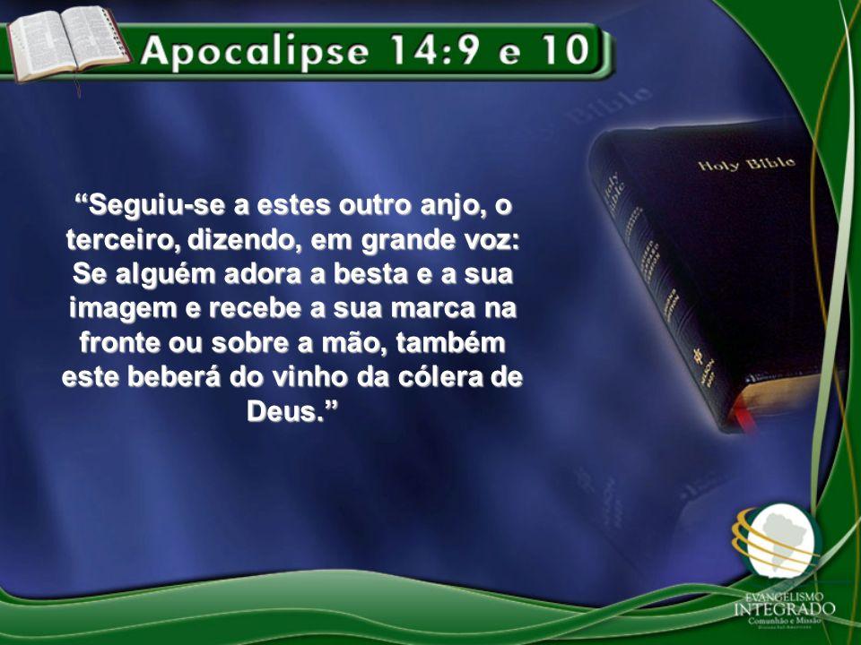 Novamente a história testemunha as verdades das profecias do Apocalipse.