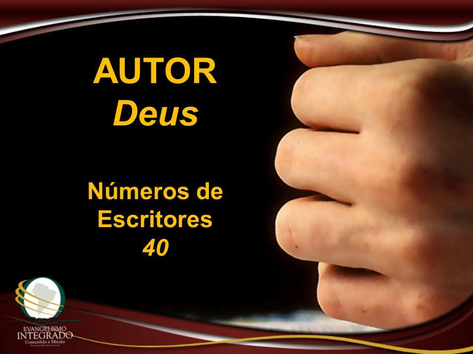 AUTORDeus Números de Escritores 40