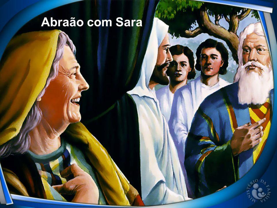 Abraão com Sara