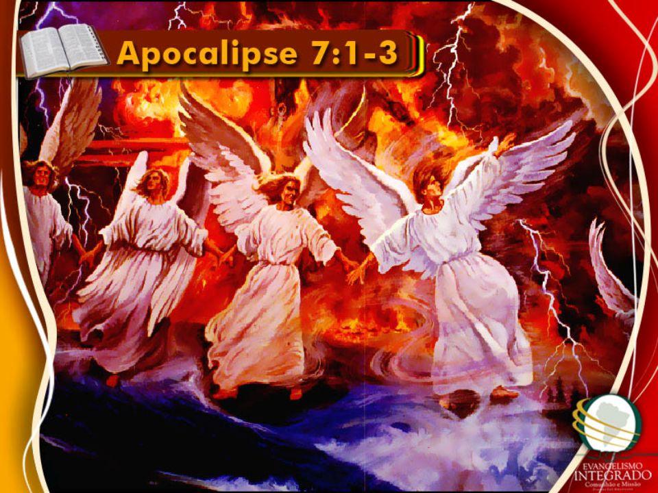 QUATRO ANJOS Proteção de Deus QUATRO CANTOS DA TERRA Pontos Cardeais SEGURANDO OS VENTOS Segurando as quatro últimas pragas