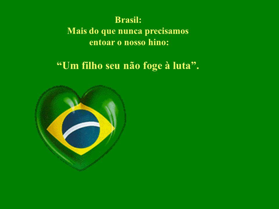 O Brasil pode vir a ser um dos melhores países do universo para se morar e manter nossas famílias. Porém a atitude pró-ativa em busca dessa mudança, o