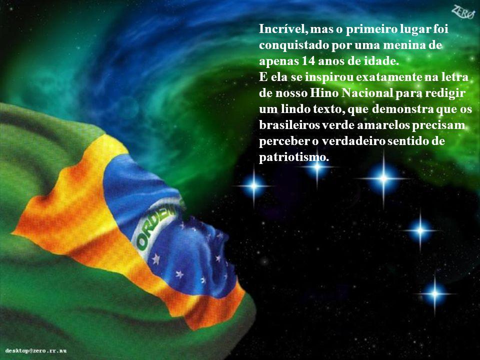 Na cidade de Joinville houve um concurso de redação na rede municipal de ensino. O título recomendado pela professora foi: