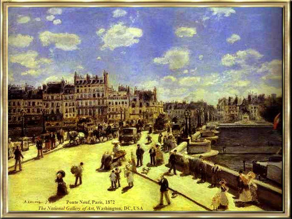 Ponte Neuf, Paris, 1872 The National Gallery of Art, Washington, DC, USA