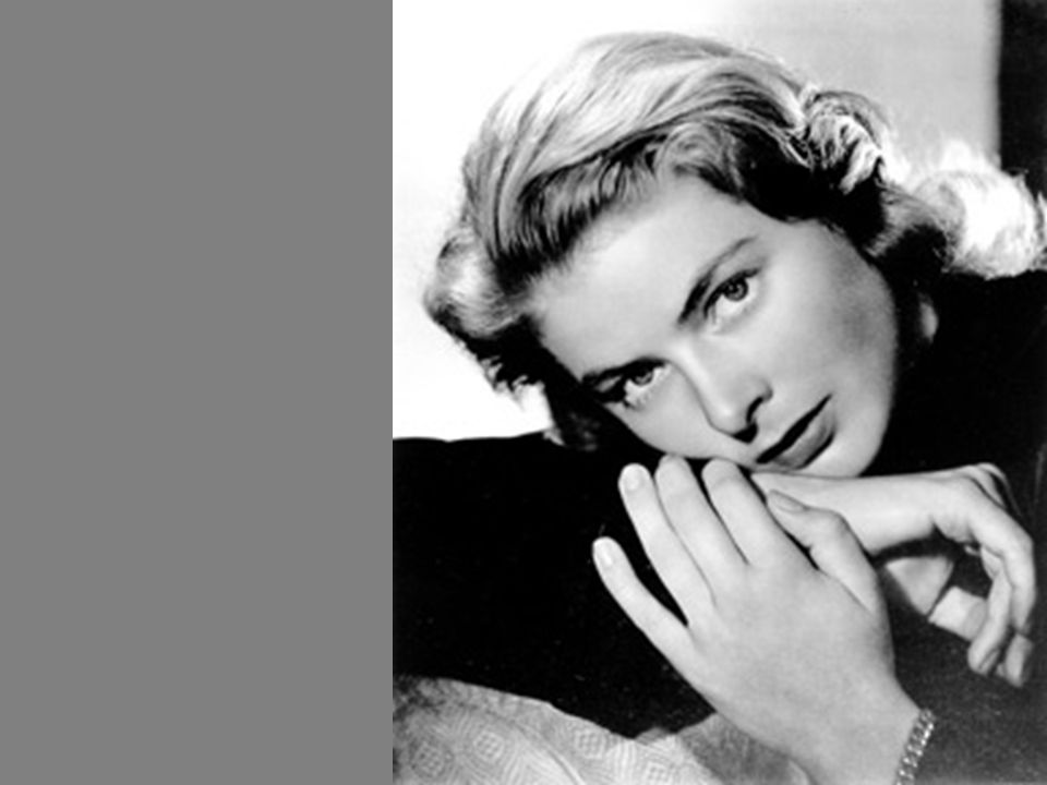 Em 1949 filma sob a direção de Roberto Rosselini, na Italia, Stromboli.