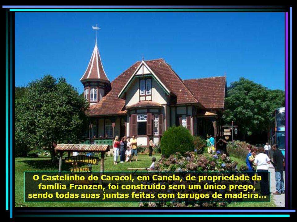 A beleza das flores e jardins, de Nova Petrópolis, pequena, mas linda cidade, entre Caxias do Sul e Gramado…