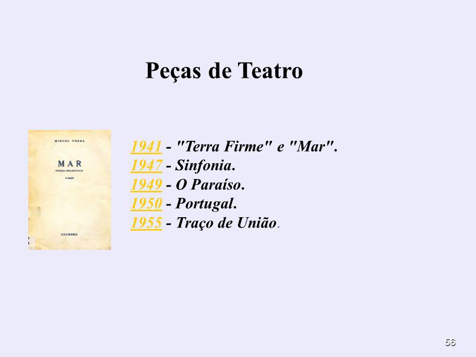56 Peças de Teatro 19411941 -